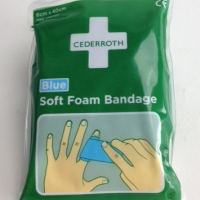 Cederroth Soft Foam Bandage blau